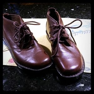 Leather booties,  Naturalizer